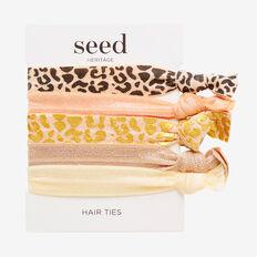 Hair Elastic Pack  OCELOT  hi-res