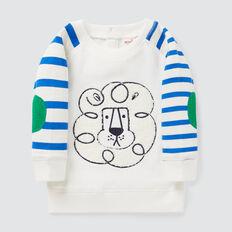 Raglan Lion Sweater  VINTAGE WHITE  hi-res