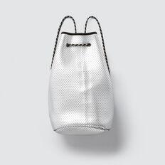 Neoprene Backpack  SILVER  hi-res