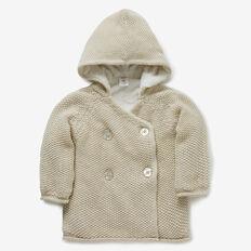 Sherpa Knit Hoodie  OATMEAL  hi-res