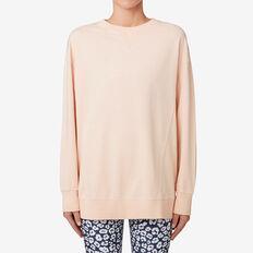 Split Hem Sweater  NEW NUDE  hi-res