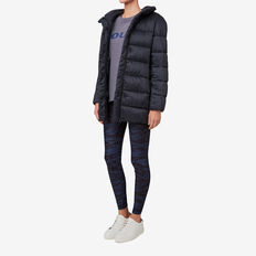 Long Puffa Jacket  DARK NAVY  hi-res
