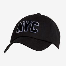 NYC Sports Cap  BLACK  hi-res