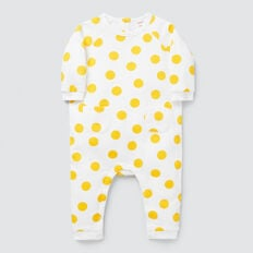 Fleece Spot Jumpsuit  CANVAS  hi-res