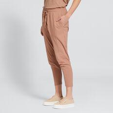 Seam Detail Harem Track Pant  ROSE BEIGE  hi-res