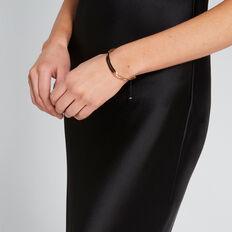 Contrast Slide Bracelet  GOLD/BLACK  hi-res