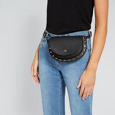 Half Moon Belt Bag  BLACK  hi-res