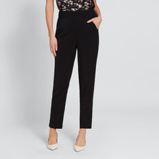 Split Hem Pant  BLACK  hi-res