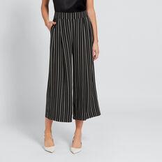 Stripe Culotte  BLACK/WINTER OAK  hi-res