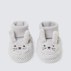Grey Bunny Booties  GREY  hi-res