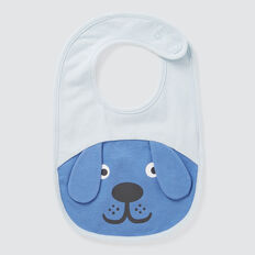Novelty Dog Bib  NIAGARA BLUE  hi-res