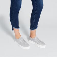 Billie Flatform Sneaker  GREY QUILT  hi-res