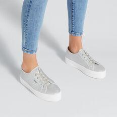 Billie Flatform Sneaker  SILVER  hi-res
