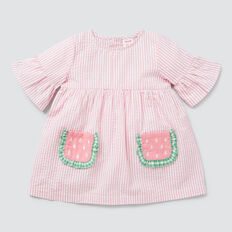 Watermelon Pocket Dress  MUSK PINK  hi-res