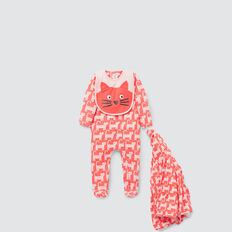 Cat Yardage Zipsuit  CORAL RED  hi-res