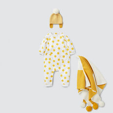 Fleece Spot Jumpsuit  CANVAS  hi-res