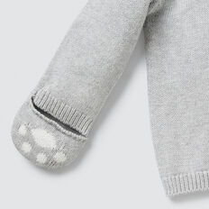 Knit Cardigan With Mittens  BIRCH MARLE  hi-res