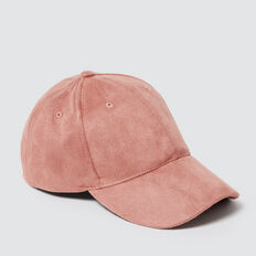 Suedette Cap  DUSTY ROSE  hi-res