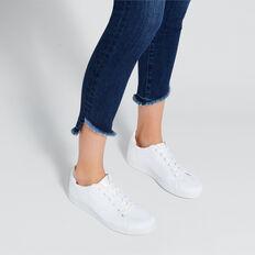 Sarah Knit Sneaker  WHITE  hi-res