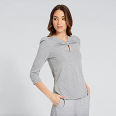 Knot Top  SILVER DUST  hi-res