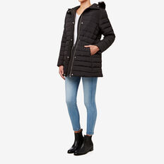 Puffa Jacket  BLACK  hi-res
