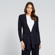 Wrap Jacket  DEEP NAVY  hi-res