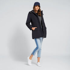 Longline Puffa Jacket  DEEP NAVY  hi-res