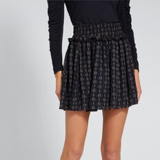 Floaty Mini Skirt  MINI DOBBY  hi-res