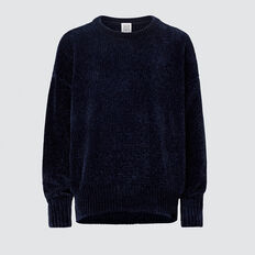 Chenille Sweater  MIDNIGHT  hi-res