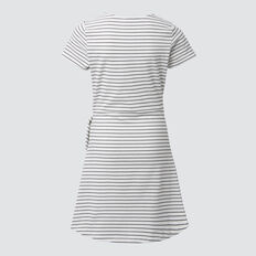 Mock Wrap Dress  WHITE/MIDNIGHT  hi-res