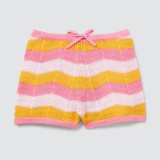 Crochet Shorts  MUSK PINK  hi-res