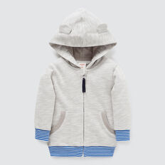 Speckle Novelty Hoodie  GREY SPECKLE  hi-res