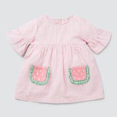 Watermelon Pocket Dress  MUSK PINK  hi-res