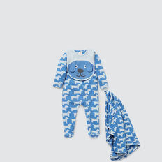 Dog Yardage Zipsuit  NIAGARA BLUE  hi-res