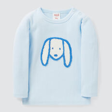 Dog Rib Tee  PACIFIC BLUE  hi-res