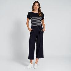 Wide Leg Culotte  DEEP NAVY  hi-res