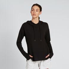 Hooded Top  BLACK  hi-res