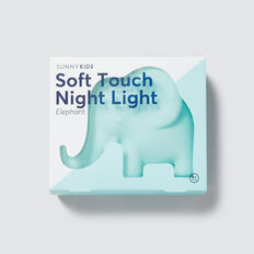 Elephant Night Light  BLUE  hi-res