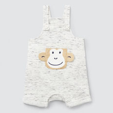 Short Monkey Overall  VINTAGE SPACE DYE  hi-res