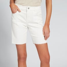 Bermuda Denim Short  BISQUE  hi-res