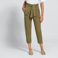 Paperbag Slim Pant  OLIVINE  hi-res