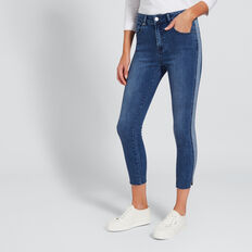 Cut-Out Hem Jean  MID DENIM WASH  hi-res