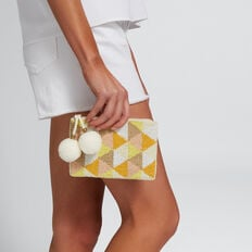 Geo Coin Purse  YELLOW MULTI  hi-res