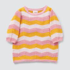 Crochet Tee  MULTI  hi-res