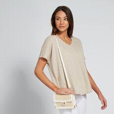 Frankie Belt Bag  WHITE/NATURAL  hi-res