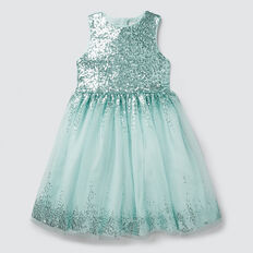 Sequin Party Dress  PISTACCHIO  hi-res