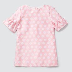 Spot Jacquard Dress  MUSK PINK  hi-res