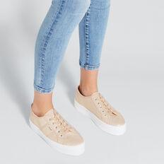 Billie Flatform Sneaker  ROSE GOLD  hi-res
