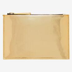 Mirror Zip Case  GOLD  hi-res