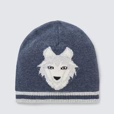 Wolf Beanie  MIDNIGHT BLUE  hi-res